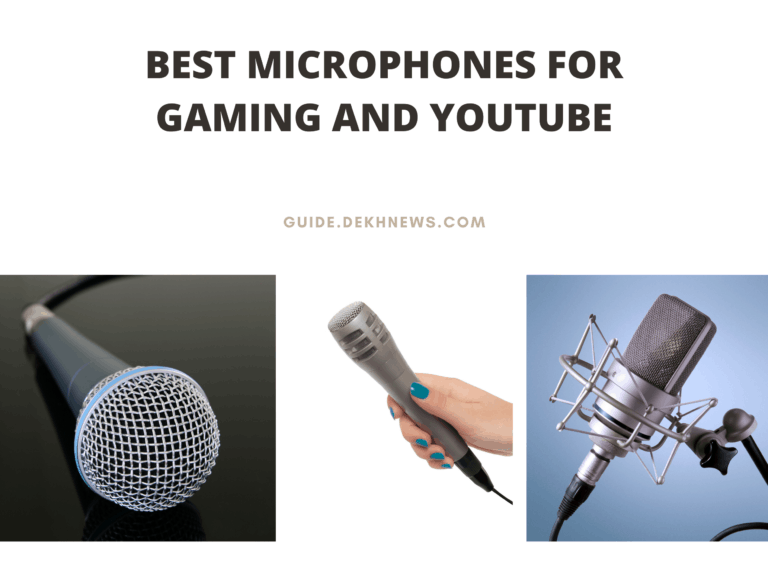 Best Microphones for Gaming and YouTube