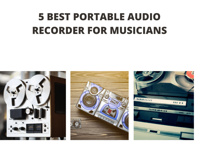 5 Best Portable Audio Recorder for Musicians