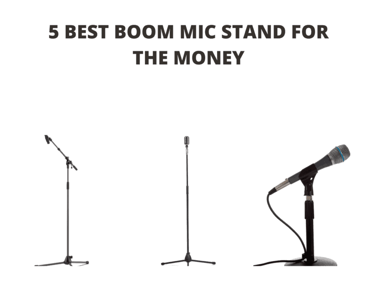 5 Best Boom Mic Stand for the Money