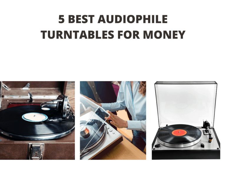 5 Best Audiophile Turntables for Money